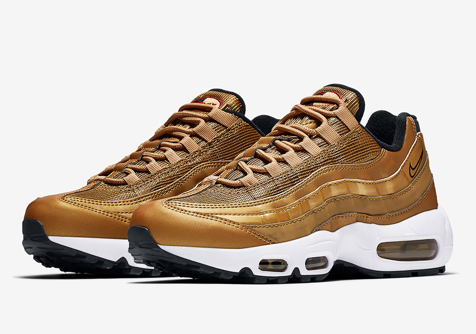 a687c7851df8d Swag Craze: First Look: Nike Air Max Metallic Gold Pack