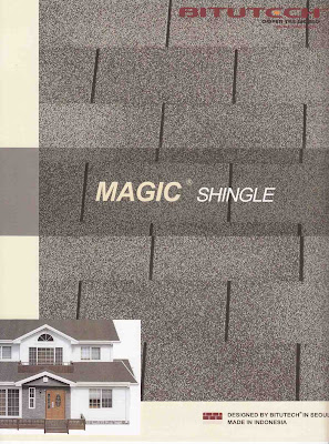 Atap Bitutech Shingle Magic