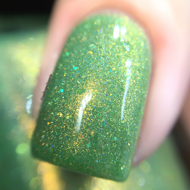 ever after polish caramel apple swatch polish con chicago limited edition