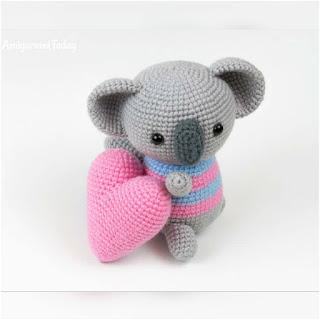 patron amigurumi Koala amigurumi today