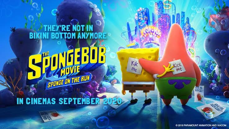 The SpongeBob Movie: Sponge on the Run (2020) WEBDL Dubbing Indonesia