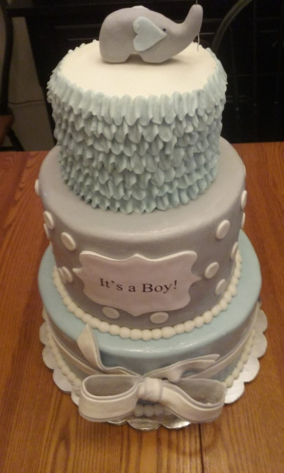 Icing On Top Cakes For Every Occasion Elephant Baby Shower Cakes