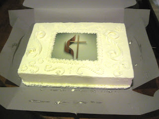 Rev. Thompson's cake