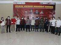 Ribuan Mahasiswa Ikut Vaksinasi di STKIP Muhammadiyah Bogor