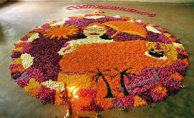 Athapoo Floral Design pictures for Athapookalam