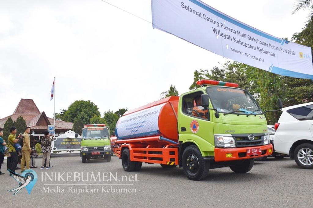 Peduli Korban Kekeringan di Kebumen, PLN Bantu 93 Tangki Air Bersih