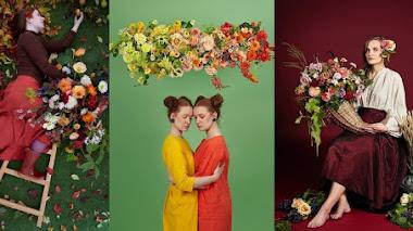 Arte floral con Electric Daisy Flower Farm en Instagram