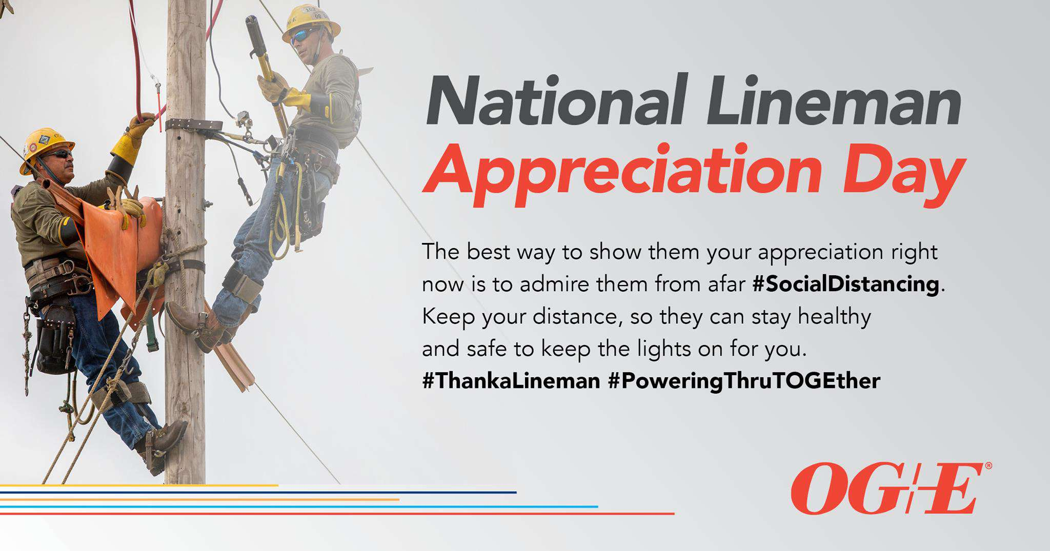 National Lineman Appreciation Day Wishes Photos