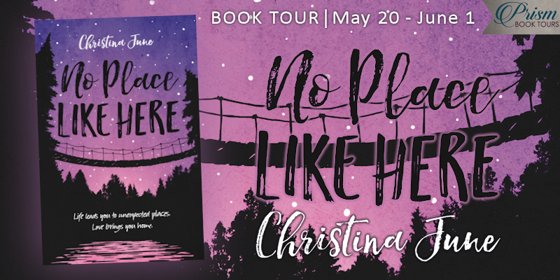 We're launching the Book Tour for NO PLACE LIKE HERE by Christina June!