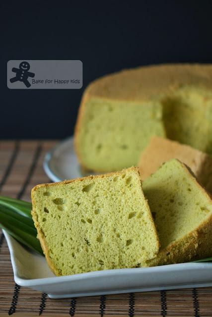 best Pandan Chiffon Cake
