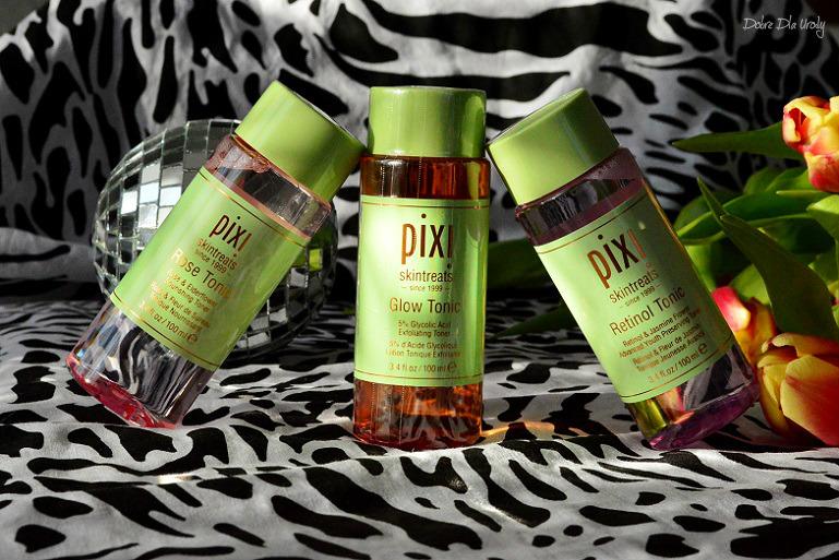 PIXI toniki - Glow Tonic, Rose Tonic & Retinol Tonic i Konkurs! Wygraj Złuszczający tonik Pixi Glow!