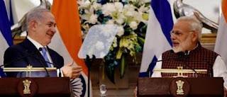 PM Modi in israel