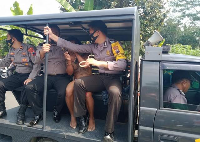 Polisi Amankan Pencuri Motor yang Tertangkap Warga di Kemangkon