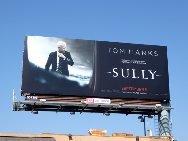 Tom Hanks Sully movie billboard