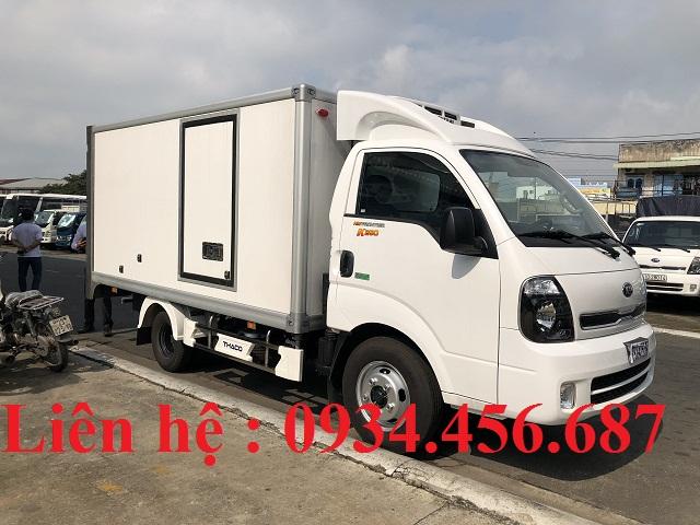 Xe thùng đông lạnh Kia K250