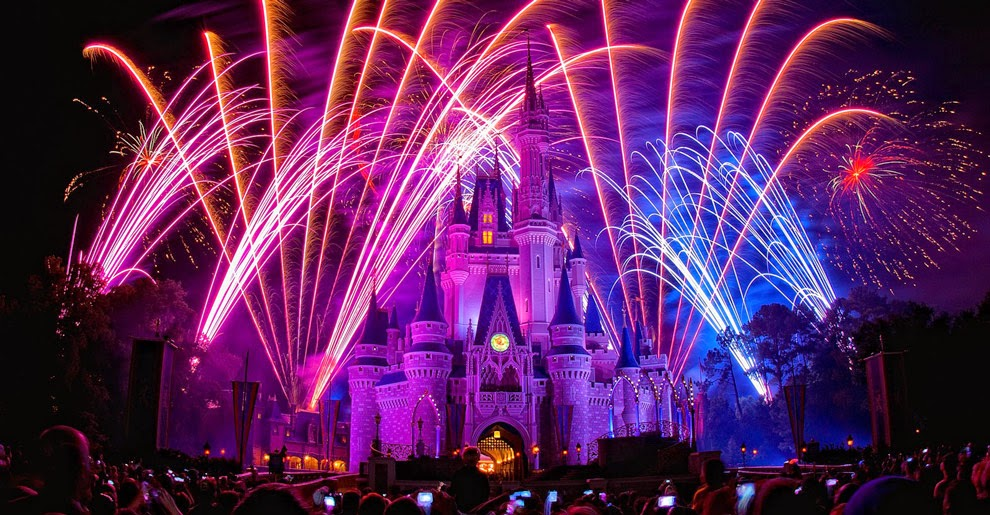 Réveillon e virada do ano novo na Disney em Orlando - Magic Kingdom