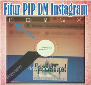 Cara Menggunakan Fitur PIP Di DM Instagram