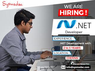 We are Hiring .Net Developer
