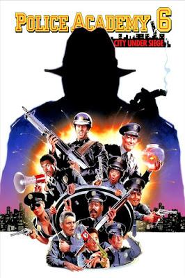 Police Academy 6: City Under Siege Poster