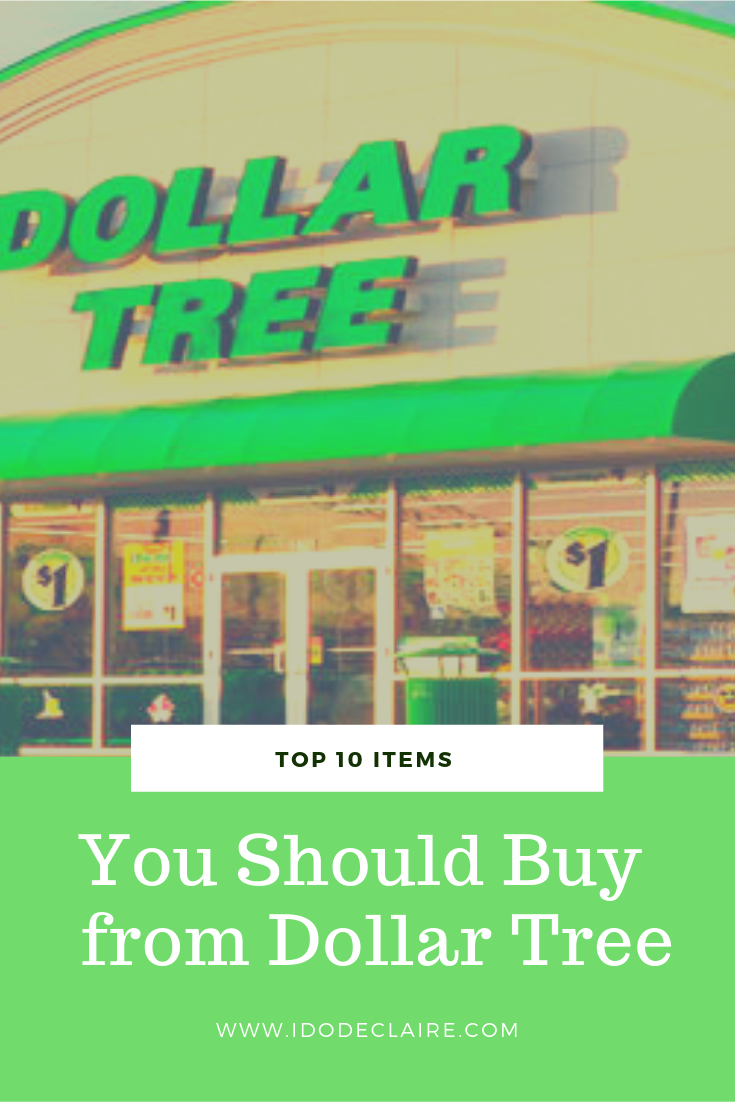 Top 10 Items to Get from the Dollar Tree