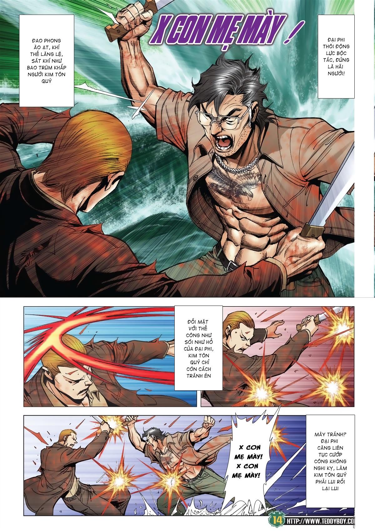 Người Trong Giang Hồ chapter 2033: kim tôn quý vs đại phi trang 11