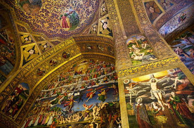 Vank Cathedral, the Church of the Saintly Sisters, is placed in one of the oldest parts of Isfahan called Jolfa.