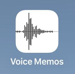 cara merekam suara di iphone 6