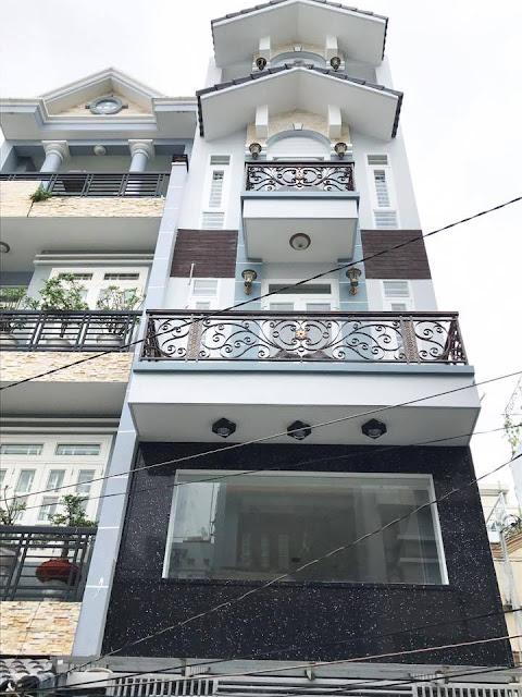 Bán nhà hẻm xe hơi đường Lê Văn Thọ quận Gò Vấp, DT 4x17m