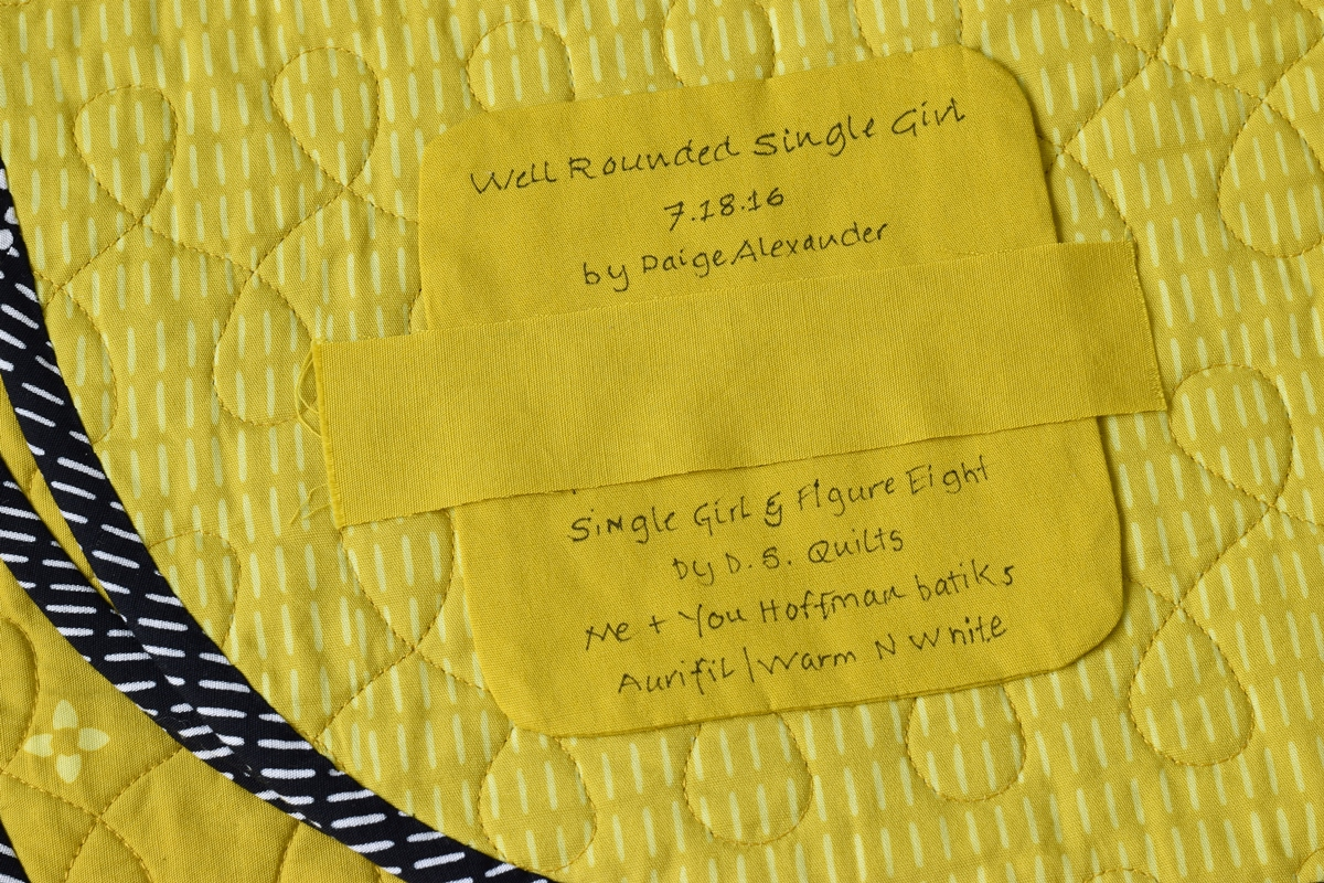 So Today, I Have A Tutorial To Share About How I Print The Quilt Label