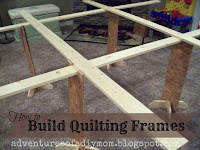how to build quilting frames