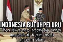 Indonesia Butuh Peluru