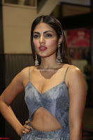 Rhea Chakraborty in a Sleeveless Deep neck Choli Dress Stunning Beauty at 64th Jio Filmfare Awards South ~  Exclusive 136.JPG