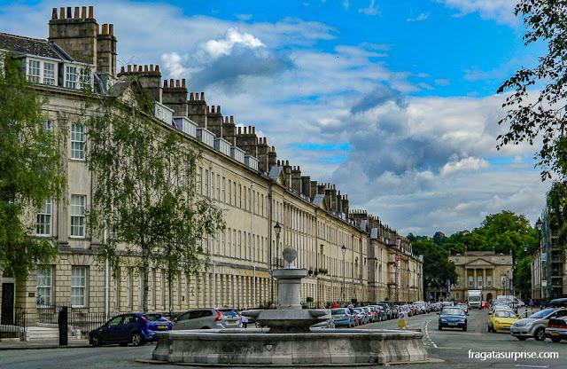 Great Pulteney Street, Bath, Inglaterra