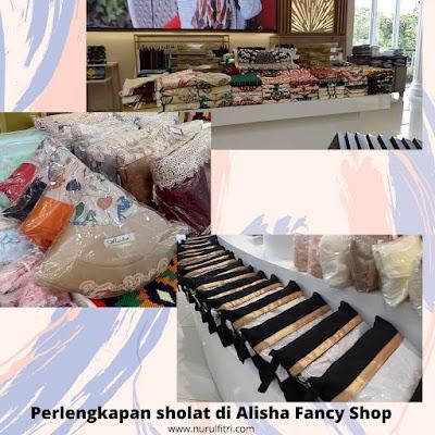 Alisha tempat belanja alat sholat di Bandung