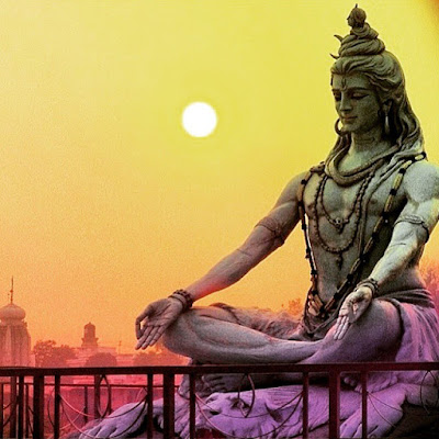 Image of Lord Shiva in Meditation Posture