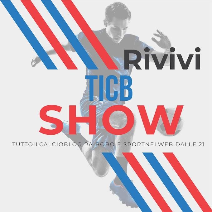#TICBshow del 18 Ottobre 2019