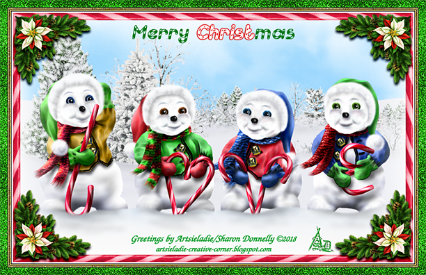 Love Snowmen by/copyrighted to Artsieladie