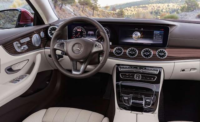 2018 Mercedes-Benz E Class Coupe Interior