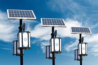 Lamp-Post Solar Light