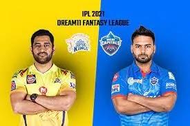 IPL 2021: 02 MATCH CSK Vs DC, Wankhede Stadium Mumbai