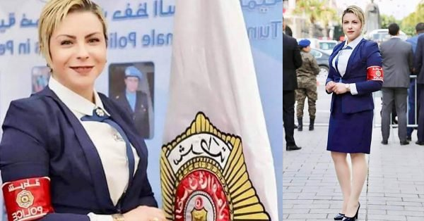 نادرة العياري - أجمل شرطية عربية