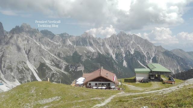 Il rifugio Sennjoch Hutte