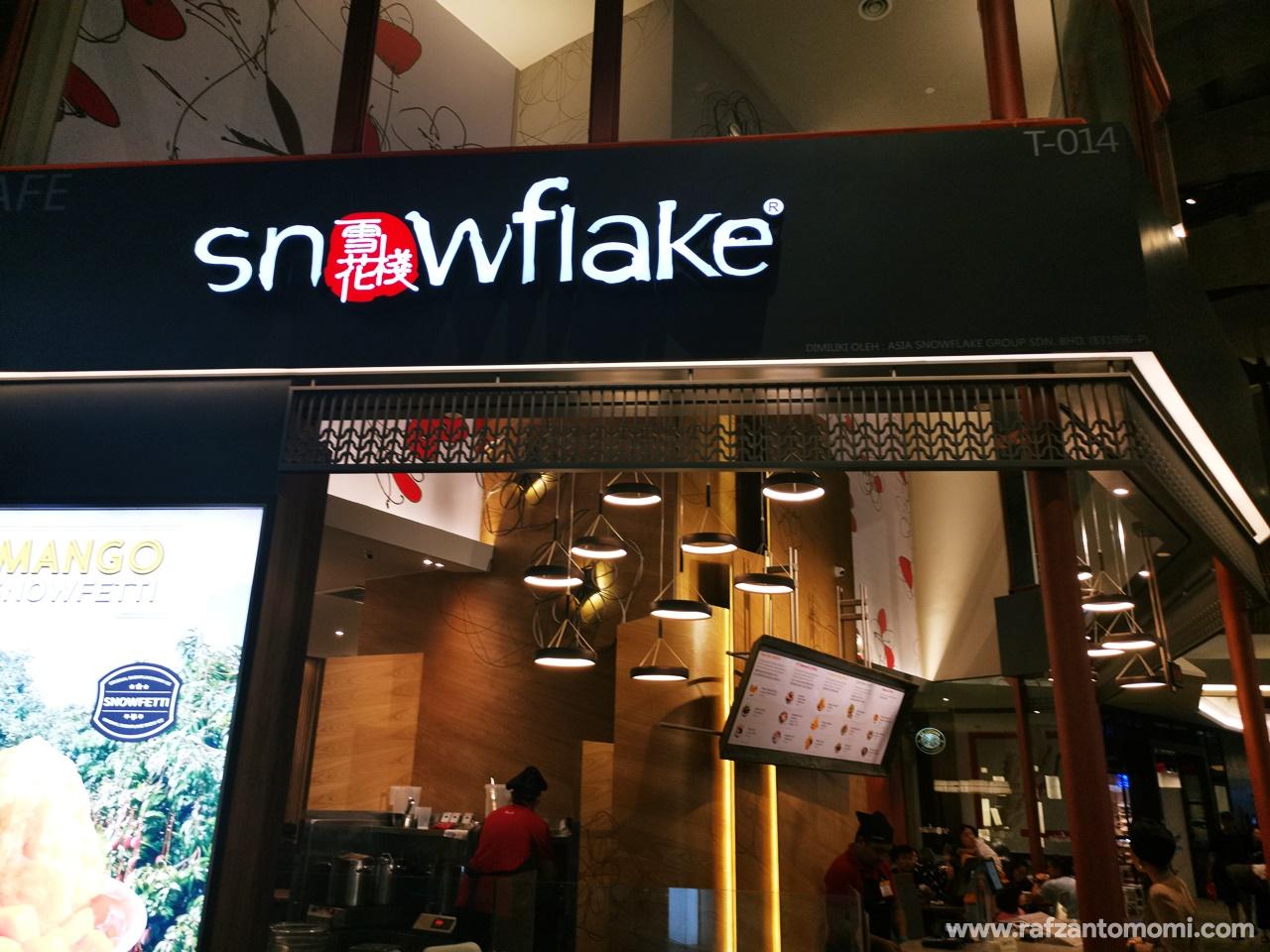 Cuba Snowflakes Malaysia Dessert