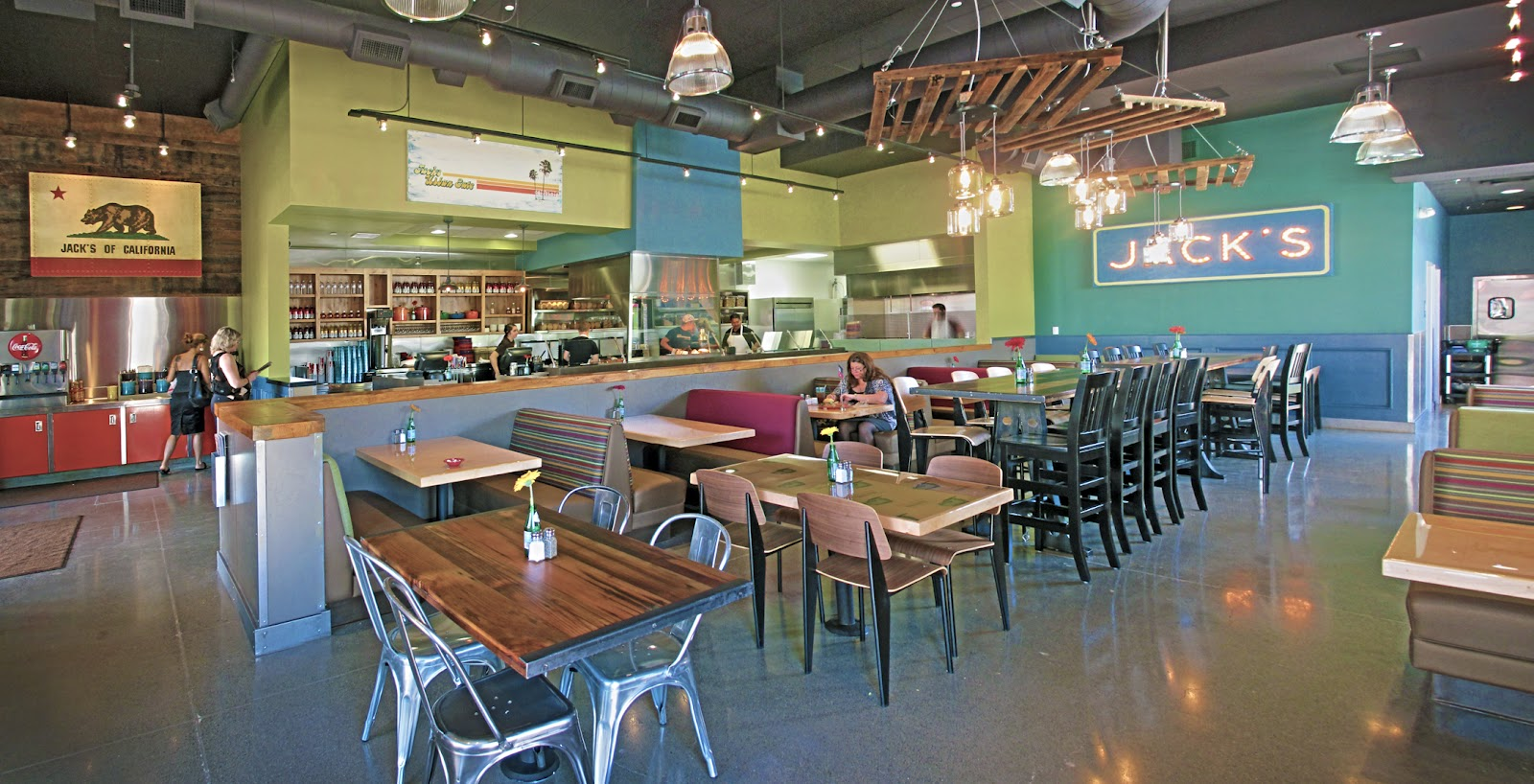 Do It Yourself Home Design: Jack's Urban Eats Opens
