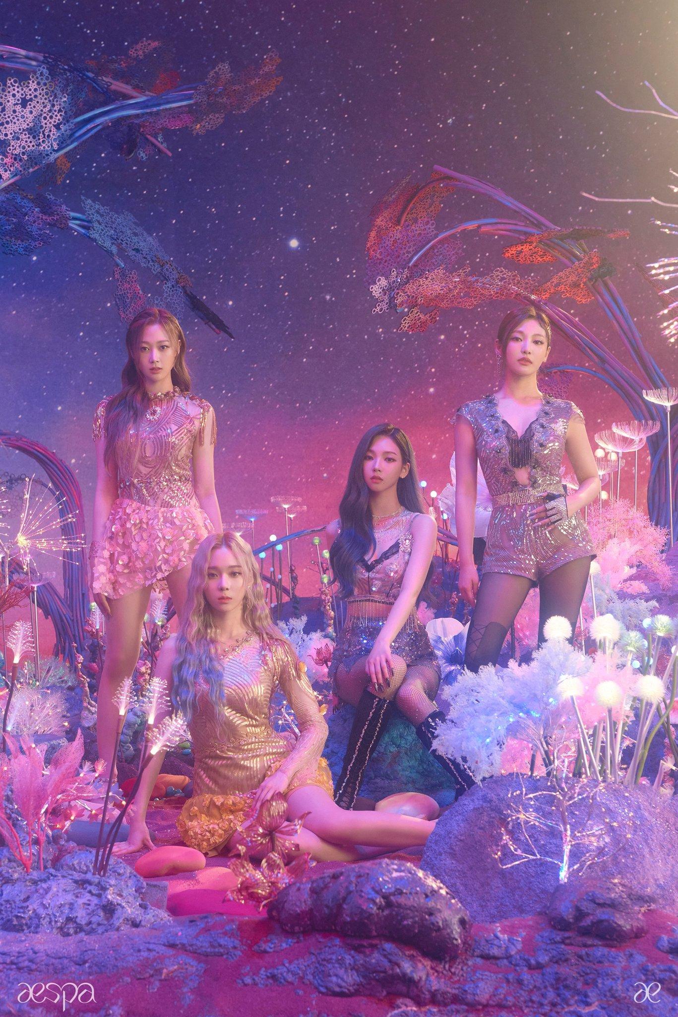 aespa Members Look Dazzling in the Latest Teaser Ahead of Debut