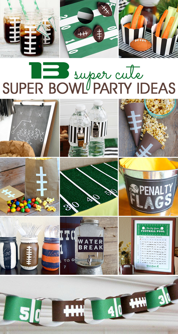 Candid image within super bowl party games printable