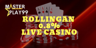 Rollingan Live Casino 0.8%