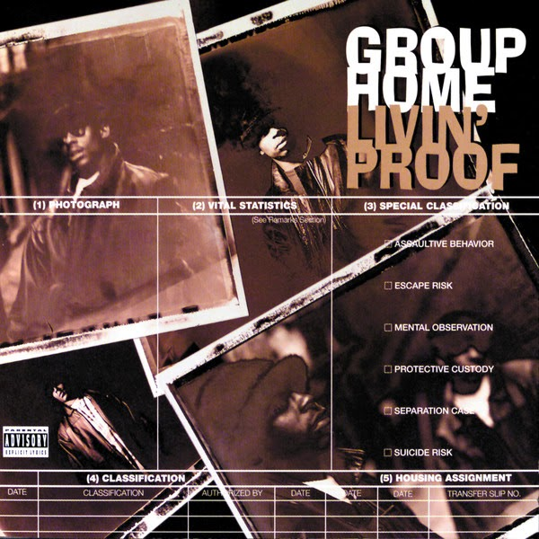 Group Home - Livin' Proof Cover