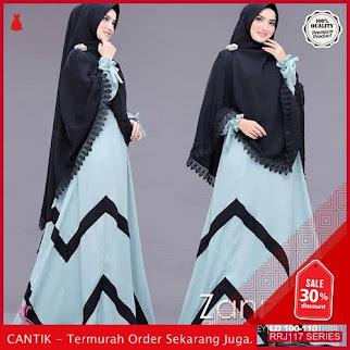 Jual RRJ117D66 Dress Muslim Zannabe Wanita Syari Wd Terbaru BMGShop