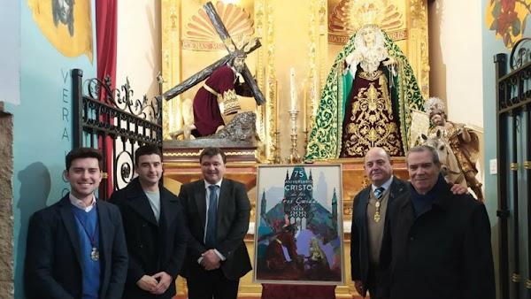 Presentados los actos del LXXV aniversario de la bendición del Señor de Tres Caídas de Huelva